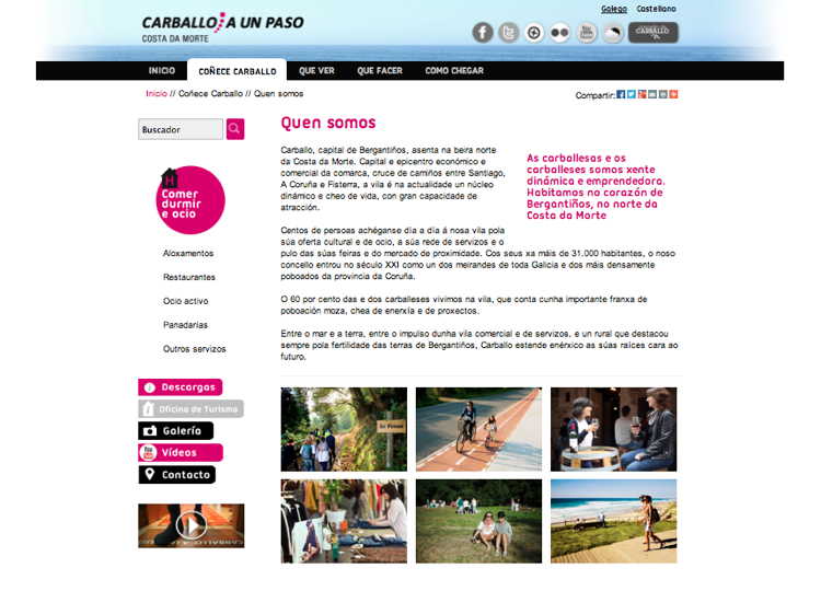 Portfolio de trabajos de abertal networks carballo a - Empresas carballo ...